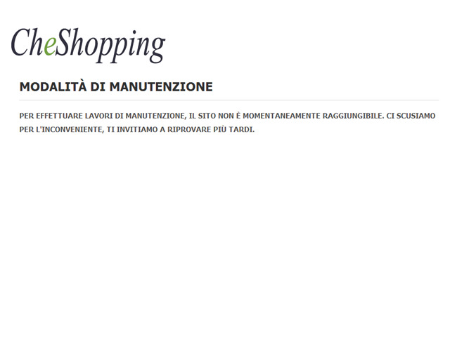 Anteprima cheshopping.it