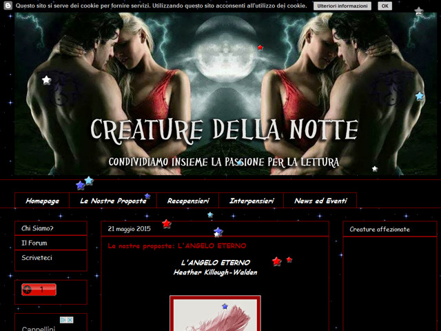 Anteprima creaturedellanotte.blogspot.it