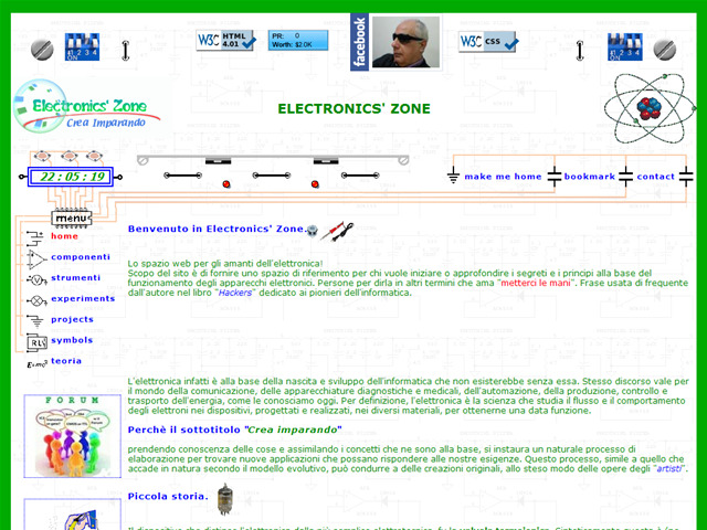 Anteprima www.electronicszone.it