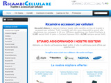 Anteprima www.ricambicellulare.com