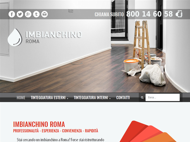 Anteprima www.imbianchino.roma.it