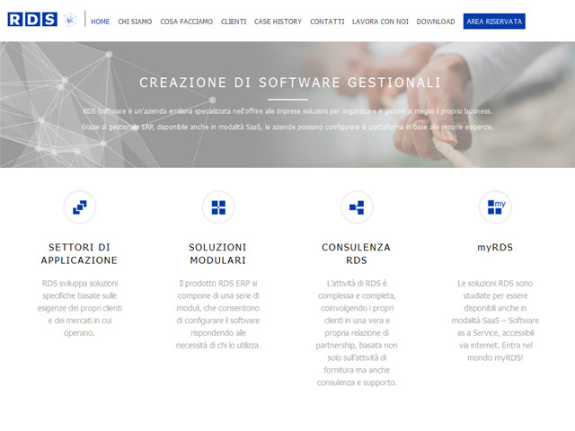 Anteprima www.rds-software.com/it/home
