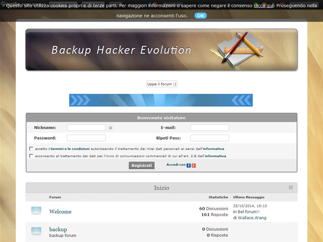 Anteprima backuphackerevolution.forumfree.it