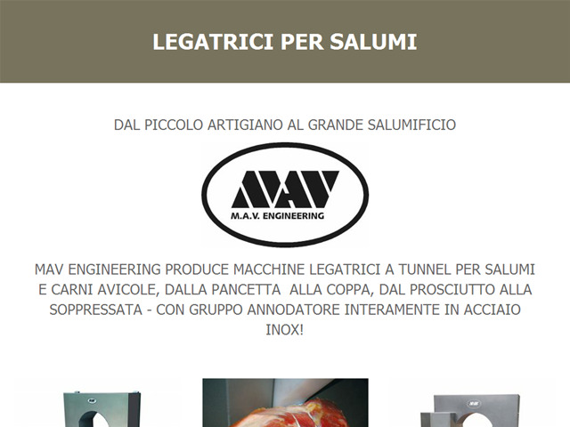 Anteprima www.legatricipersalumi.it