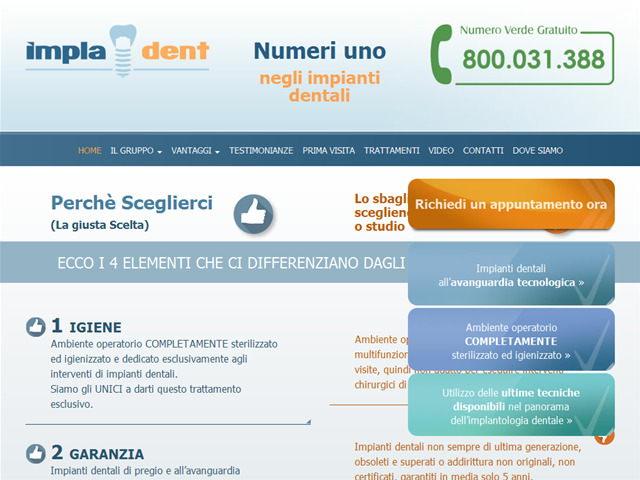 Anteprima www.impla-dent.it