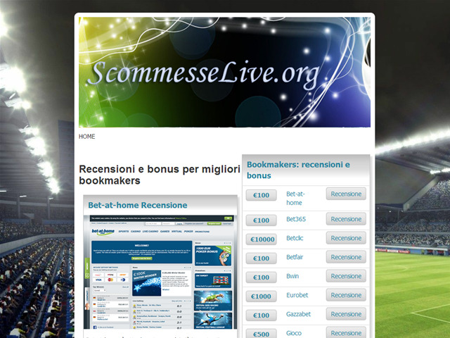 Anteprima www.scommesselive.org