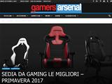 Anteprima gamersarsenal.it/migliori-sedie-da-gaming