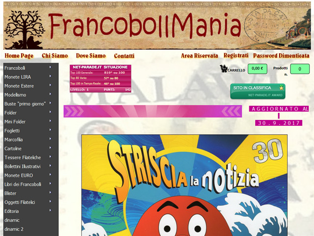 Anteprima www.francobollmania.it