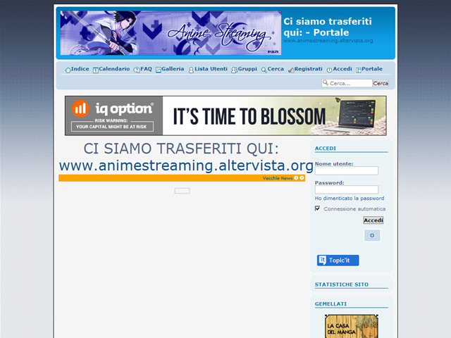 Anteprima animestreaming.forumitalian.com/portal.htm