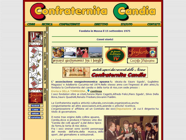 Anteprima www.confraternitacandia.it