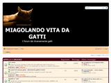 Anteprima miagolando.com/forum