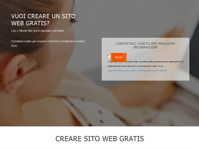 Anteprima www.crearesitowebgratis.it
