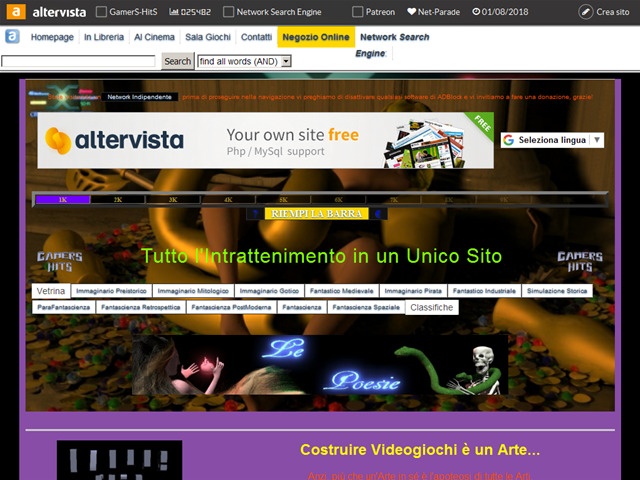Anteprima gamershit.altervista.org