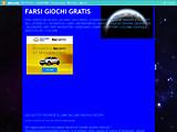 Anteprima www.farsigiochigratis.altervista.org