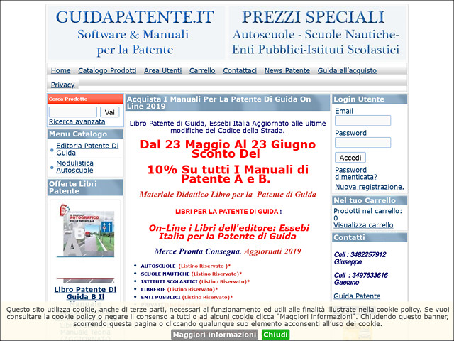 Anteprima www.guidapatente.it