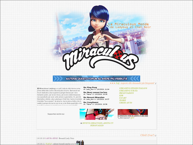 Anteprima miraculousmonde.forumfree.it