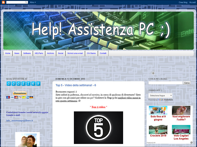 Anteprima helpassistenzapc.blogspot.it