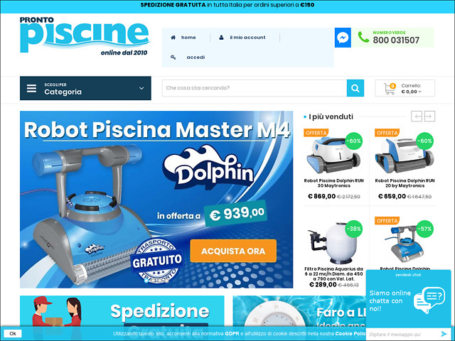 Anteprima www.prontopiscine.it