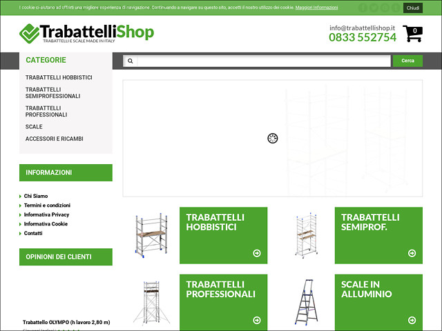 Anteprima www.trabattellishop.it