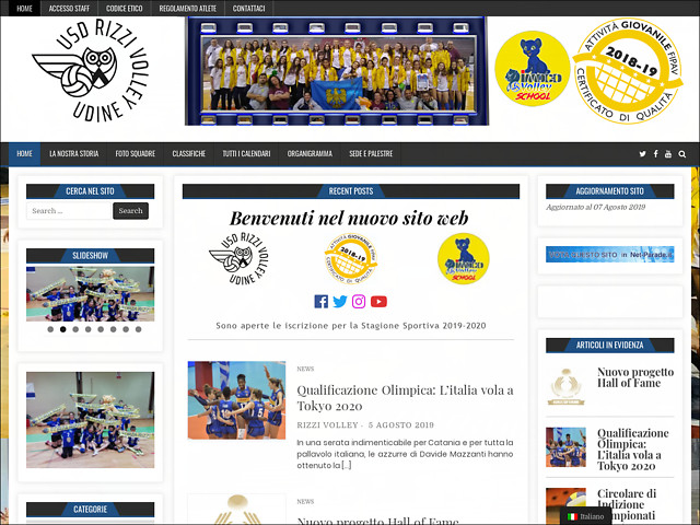 Anteprima www.rizzivolley.it
