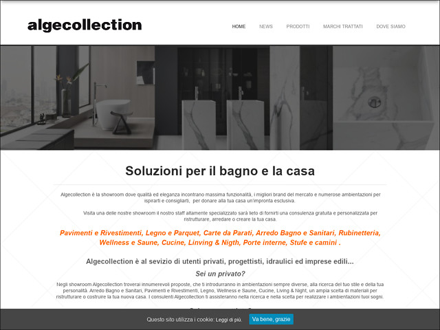 Anteprima www.algecollection.it