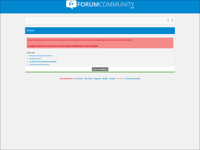 Anteprima streaming-database.forumcommunity.net