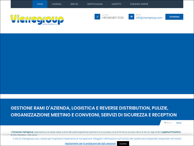Anteprima www.vierregroup.it