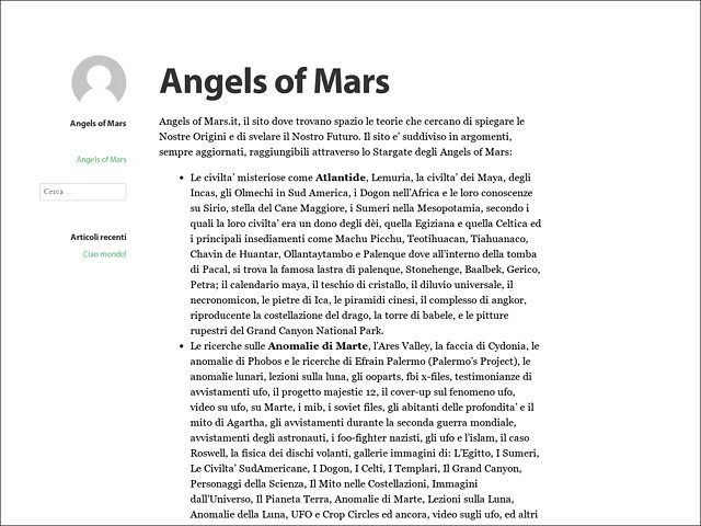 Anteprima www.angelsofmars.it