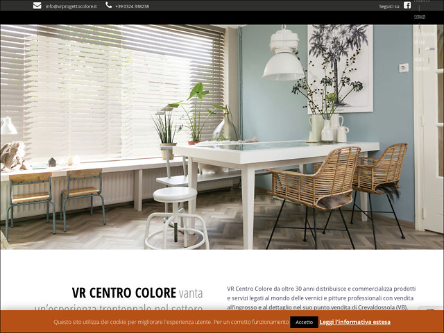 Anteprima www.vrprogettocolore.it