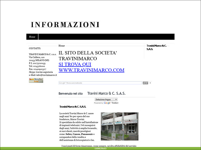 Anteprima travinimarco.xoom.it