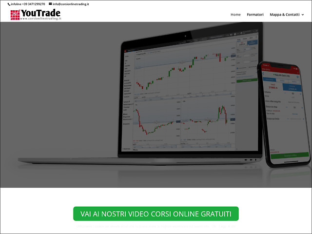 Anteprima www.corsionlinetrading.it