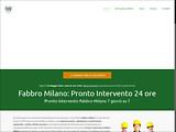 Anteprima www.fabbromilanoeprovincia.it