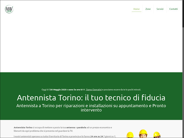 Anteprima www.antennistatorinoeprovincia.it