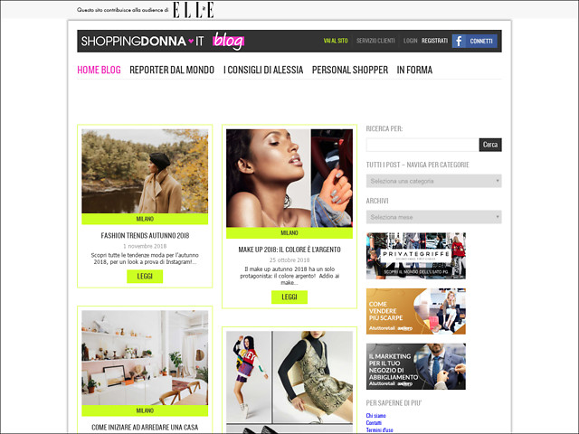 Anteprima blog.shoppingdonna.it