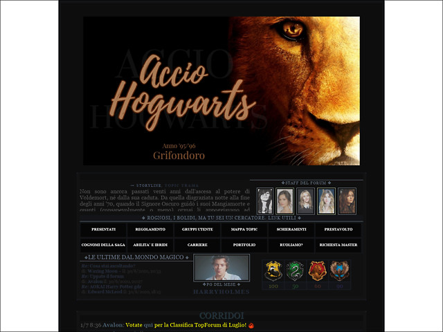 Anteprima acciohogwarts2.blogfree.net
