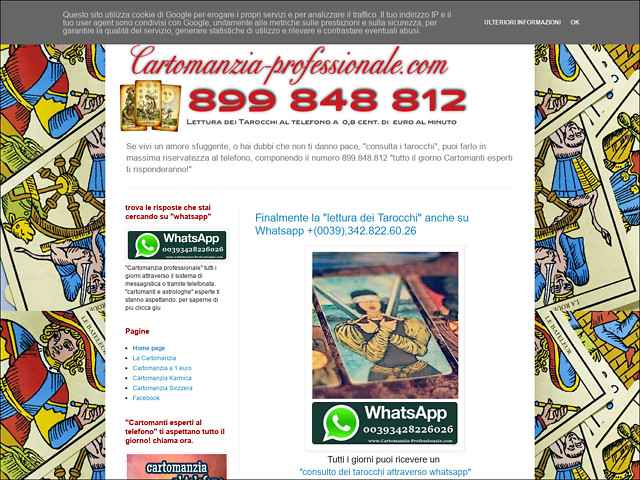 Anteprima cartomanziaprofessionale.blogspot.it