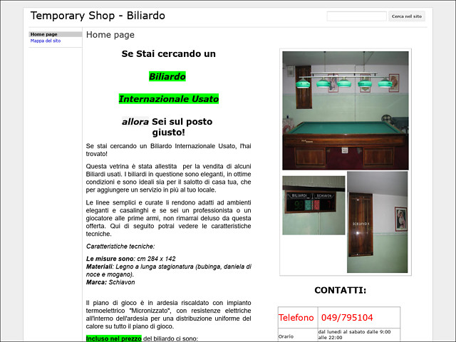 Anteprima sites.google.com/site/vendobiliardo