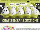 Anteprima www.chatsenzaiscrizione.com