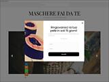 Anteprima www.mascherefaidate.it